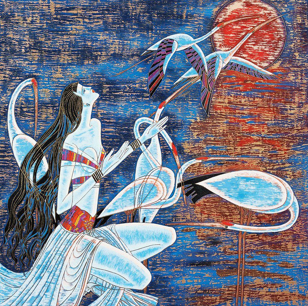 蓝色梦幻 - 极品女红 - 极品女红