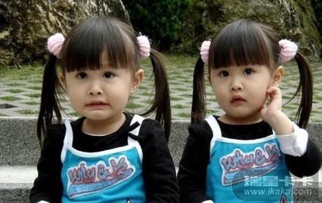 七年前三岁的台湾孪生小姐妹sandy和mandy走红网络被称...
